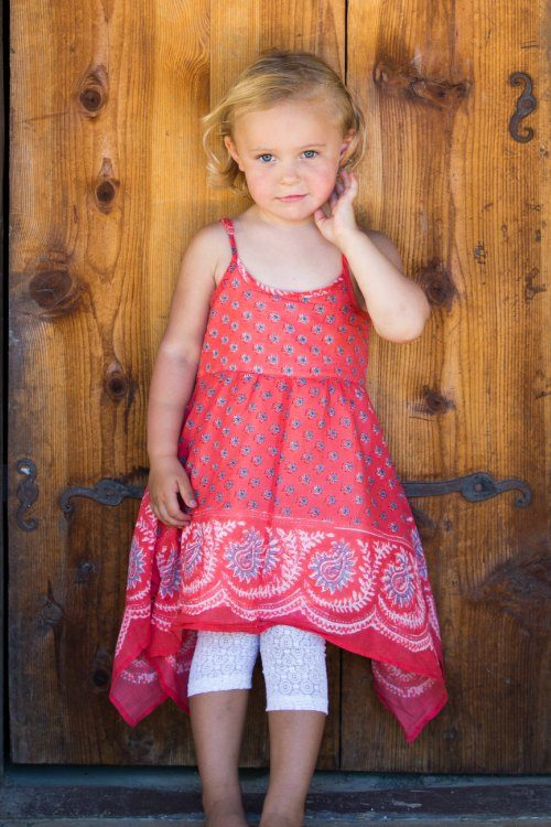 Mimi & Maggie Paisley Bandana Dress