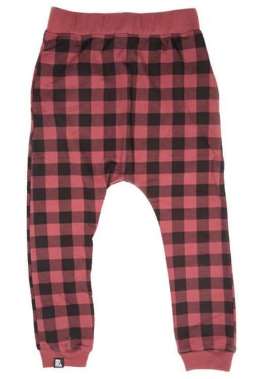 Mini & Maximus Plaid Lumberjack Pants