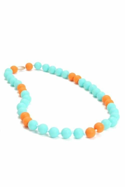 Chewbeads Waverly Teething Necklace Turquoise